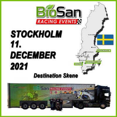 Stockholm to Skene & backway